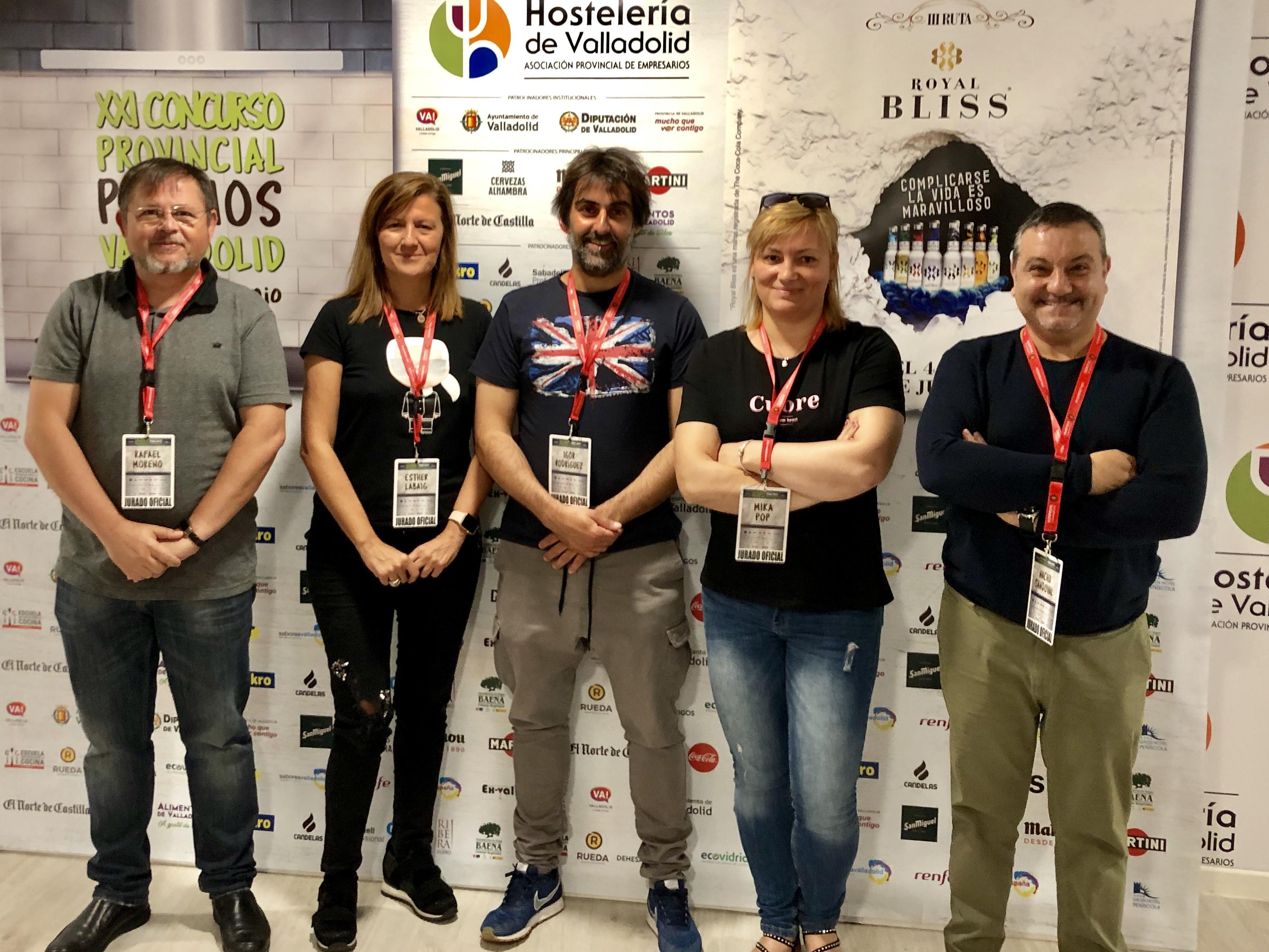 Jurado del XXI Concurso Provincial de Pinchos de Valladolid