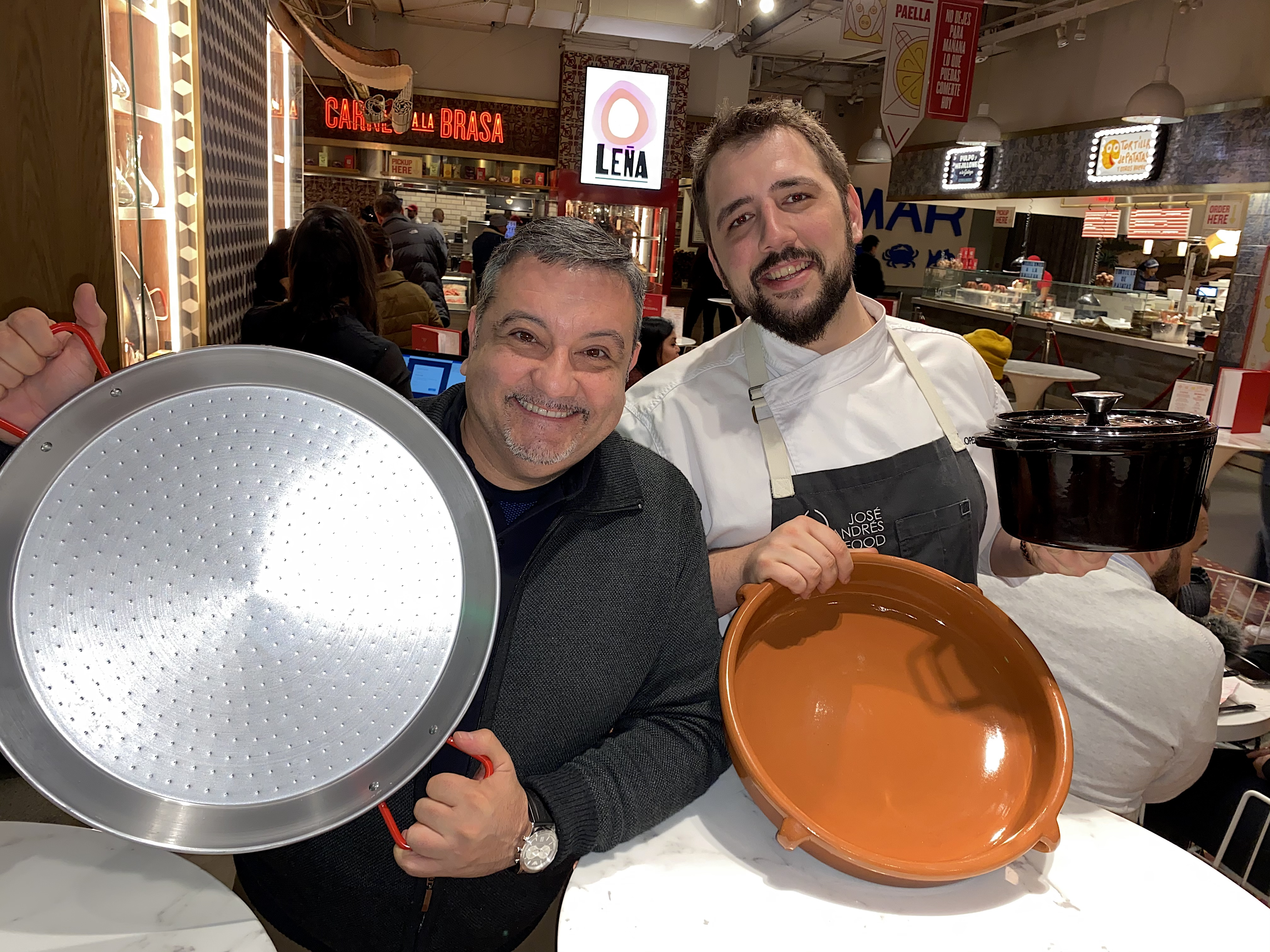 Cocinando con Niko López. Little Spain, Nueva York